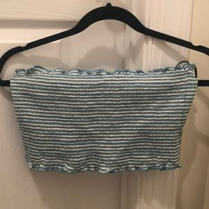 Forever 21 turquoise tube top